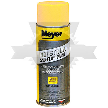 Meyer 07027 Yellow Spray Paint 1 Can Replaces Meyer