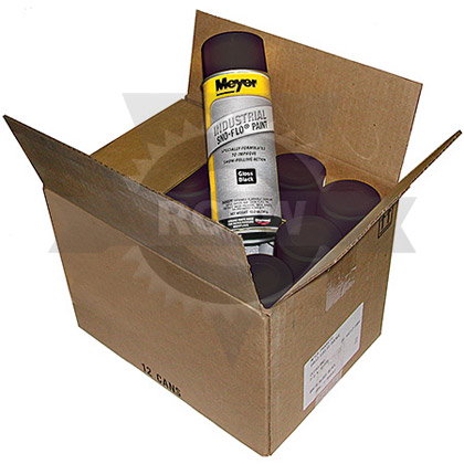 Picture of Case of Meyer Black Spray Paint (12 Cans)