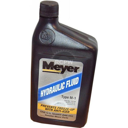 Picture of 1 Quart of Meyer M1 Oil - Hydraulic Fluid