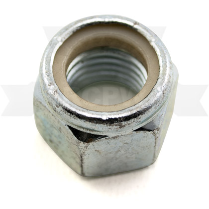 "Picture of 3/4""-10 Zinc Plated ESNA Locknut"