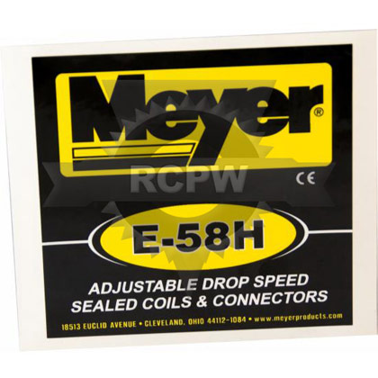 Picture of E-58H Pump Sticker/Decal