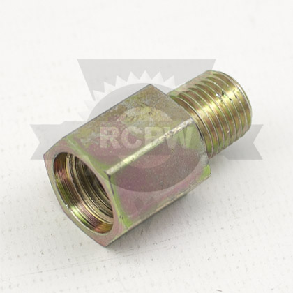 "Picture of Female Adapter SAE-6 to Male 1/4"" NPT"