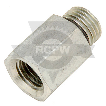 "Picture of Female Adapter 1/4"" NPT to Male SAE-6"