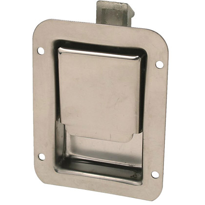 Picture of Non-Locking Junior Size Stainless Steel Single Point Latch