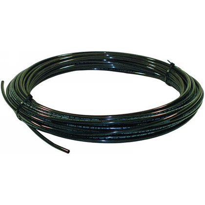 "Picture of DOT Nylon Air Tubing - Black - 1/4"" x 100 Feet"