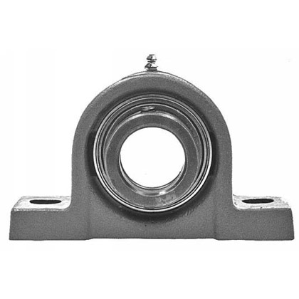 "Picture of 1"" Precision Ground Pillow Block - Eccentric Locking Collar"