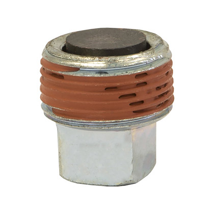 """Picture of 1/2"""" Magnetic Pipe Plug - Square Socket"""