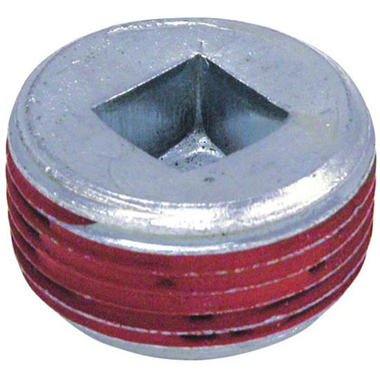 "Picture of 1"" Magnetic Pipe Plug - Square Socket"