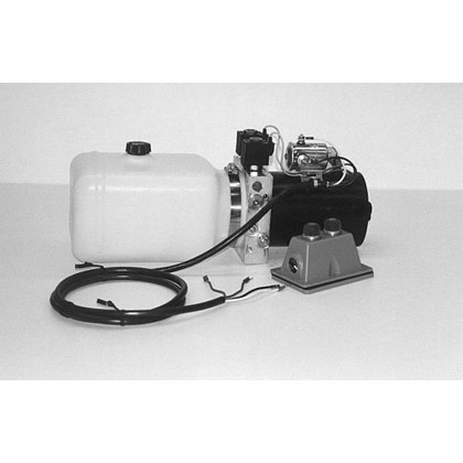 "Picture of Electric 4-Way Function DC Power Unit - 5-1/2"" x 6-1/2"" x 10"" .86 Gallon Usable Poly Reservoir (199 cubic in.)"