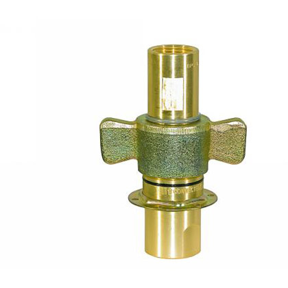 "Picture of 1"" NPT Coupler - Male End Only - 45 GPM"
