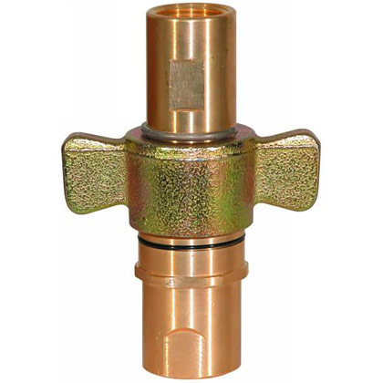 "Picture of 1-1/4"" NPT Complete Coupler Male & Female Assemblies - 75 GPM"