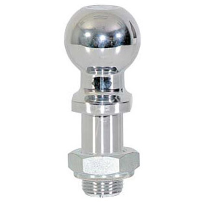 "Picture of 2-5/16"" Chrome Replacement Ball with Lock Nut for RM6 and BH8 Series Hitches"