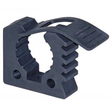 "Picture of Small Rubber Clamp Holds 1"" to 2-1/2"" in Diameter"