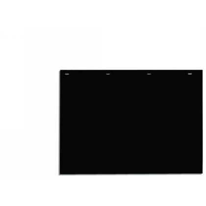 """Picture of Black Polymer Mudflaps - 24"""" W x 18"""" H - Pair"""