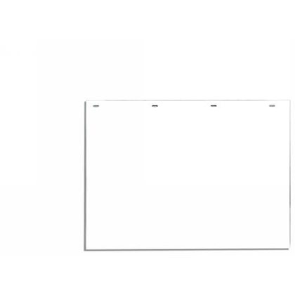 "Picture of White Polymer Mudflaps - 24"" W x 18"" H - Pair"