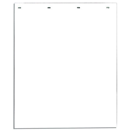 """Picture of White Polymer Mudflaps - 24"""" W x 36"""" H - Pair"""
