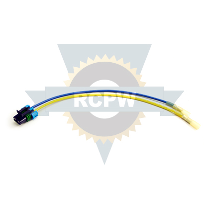 Picture of Buyers SaltDogg Spinner Repair Wire Harness, Male Terminal, 2-Pin Female Connector