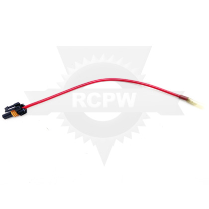 Picture of Buyers SaltDogg TGS Motor Side Repair Wire Harness, Positive, Male Terminal, Female Connector Emergency Repair Kit
