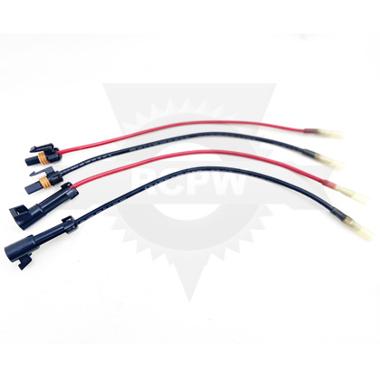 Picture of Buyers SaltDogg TGS Spinner Repair Wire Harness, Complete Positive/Negative, Male/Female Emergency Repair Kit