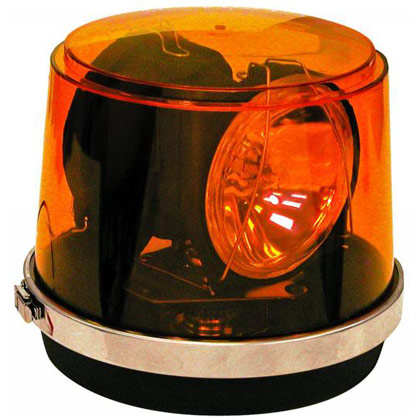 Picture of Amber Revolving Snow Plow Light