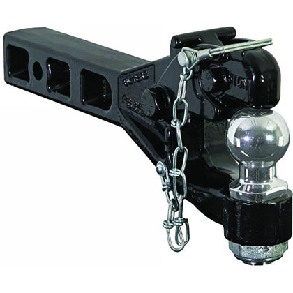 "Picture of 6-Ton Receiver Mount Combination Hitch - 2-5/16"" Ball Size"