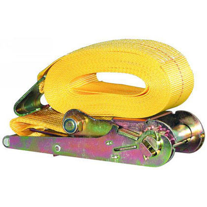 "Picture of 3"" x 27' Ratchet Strap with Flat Hooks"