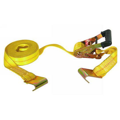 "Picture of 2"" x 27' Ratchet Strap with Flat Hooks"
