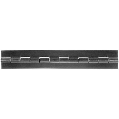"Picture of Steel Continuous Hinge - .075"" x 2"" x 1/4"""