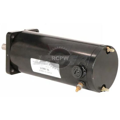 "Picture of Replacement 3"" 12V DC Motor for Western & Fisher Plows"
