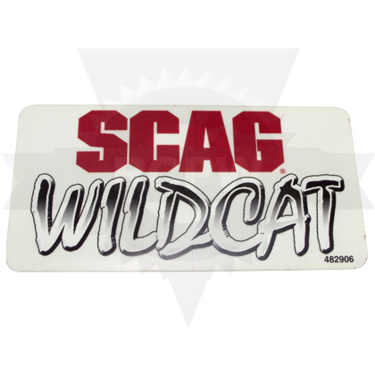 Picture of DECAL, SCAG WILDCAT