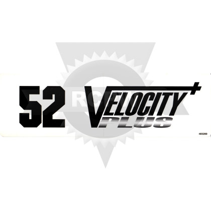Picture of DECAL, VELOCITY PLUS - 52