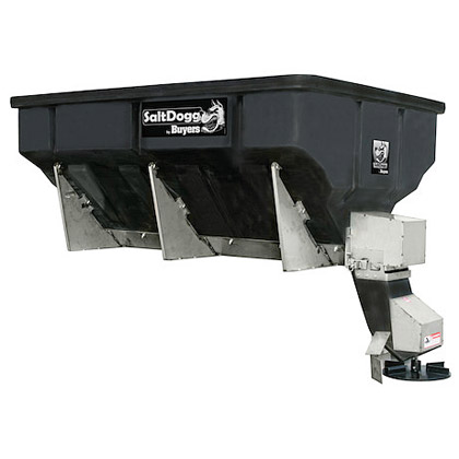 Picture of Buyers SaltDogg 4 Cubic Yard Electric Poly Salt Spreader for Heavy-Duty Municipal & Commercial Applications