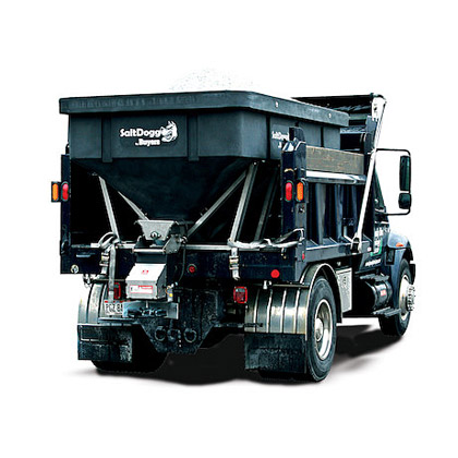 Picture of Buyers SaltDogg 6 Cubic Yard Electric Poly Salt Spreader for Heavy-Duty Municipal & Commercial Applications