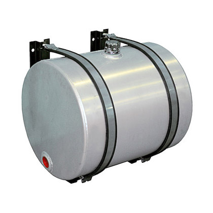Picture of 35-Gallon Side Mount Round Aluminum Reservoir (includes brackets)