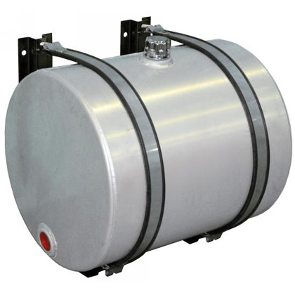 Picture of 70-Gallon Side Mount Round Aluminum Reservoir (includes brackets)