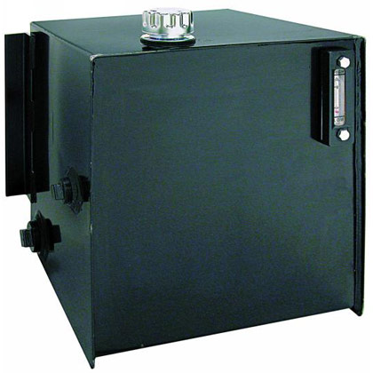 Picture of 25-Gallon Steel Reservoir with Integral Brackets & Sight Gauge