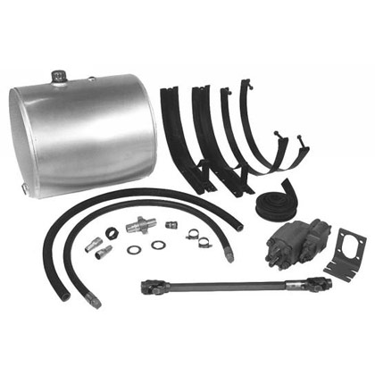 Picture of 50-Gallon Side Mount Wetline Kit - Direct - Clockwise - Aluminum Tank