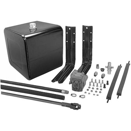 Picture of 50-Gallon Side Mount Wetline Kit - Direct - Clockwise - Poly Tank