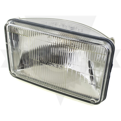 "Picture of 3.94"" x 6.5"" Sealed Beam Lamp"