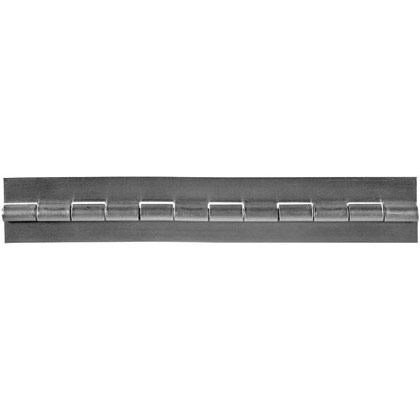 "Picture of Stainless Steel Continuous Hinge 2"" x 72"" x .120"""