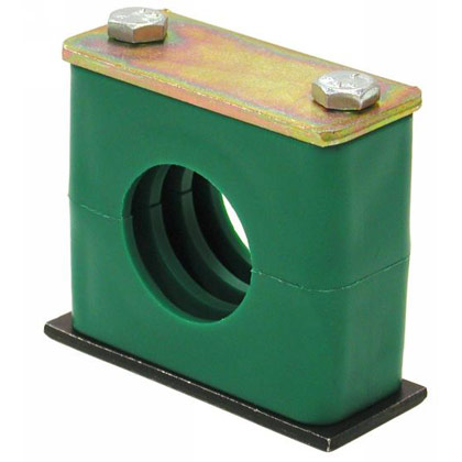 "Picture of Standard Series Clamp for Pipe - 1/8"" ID"