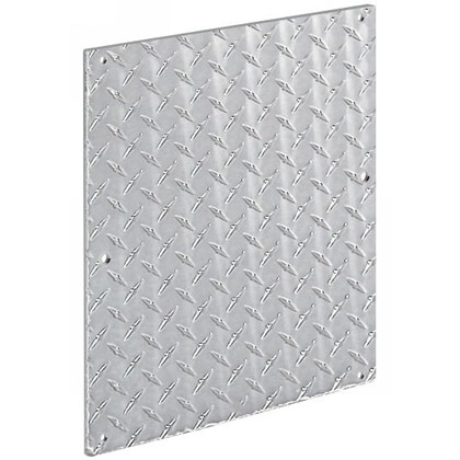 "Picture of 12"" x 10"" Aluminum Stone Guard - PACK OF 10"