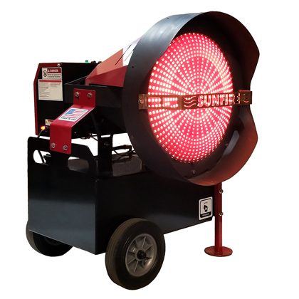 Picture of 150 Diesel-Fired Portable 150,000 BTU Radiant Shop Heater