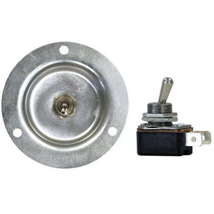 Picture of 12V Recessed Toggle Switch