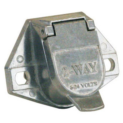 Picture of 2-Pin Metal Trailer Connector - Truck End