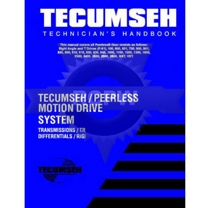 Picture of Tecumseh & Peerless Transmission and Drive Products Repair Manual