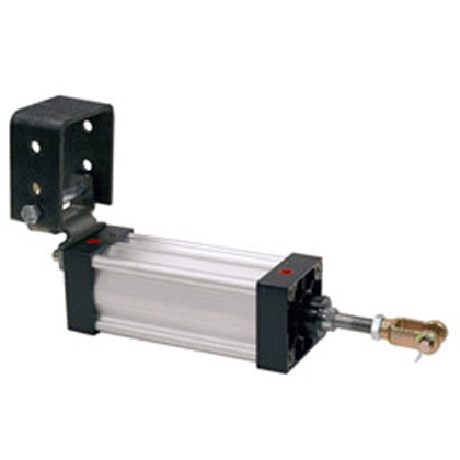 "Picture of 2-1/2"" x 8"" Hinge Mount Cylinder"
