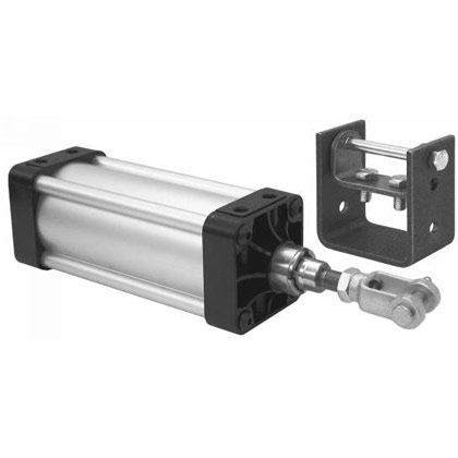 "Picture of 3-1/4"" x 6"" Hinge Mount Cylinder"
