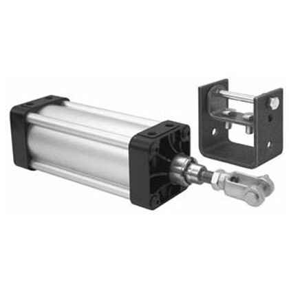 "Picture of 3-1/4"" x 6"" Stroke Hinge Mount Cylinder"