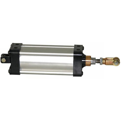 """Picture of 3-1/4"""" Diameter x 6"""" Stroke Clevis Mount Cylinder"""